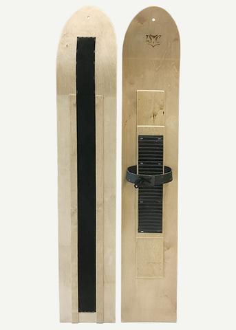 Лыжи с искусственным камусом