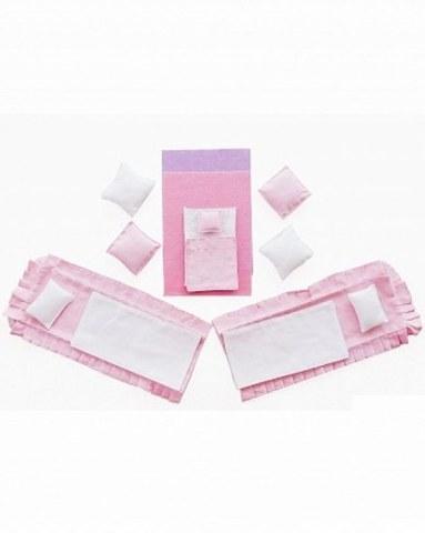 Набор текстиля для розовых домиков Paremo Вдохновение PDA315