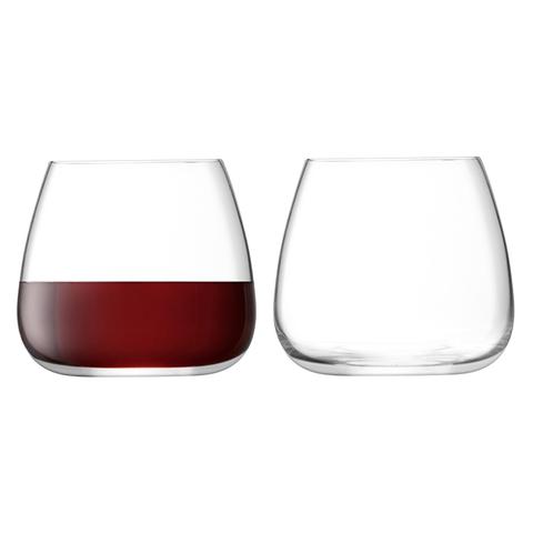 Набор из 2 стаканов для вина Wine Culture, 385 мл