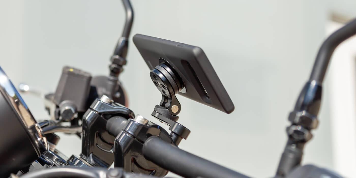 Крепление на вынос руля мотоцикла SP Connect Bar Clamp Mount Pro