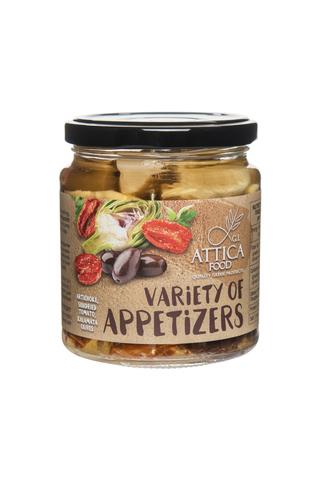Овощное ассорти из артишоков вяленых томатов и маслин AF 270 гр
