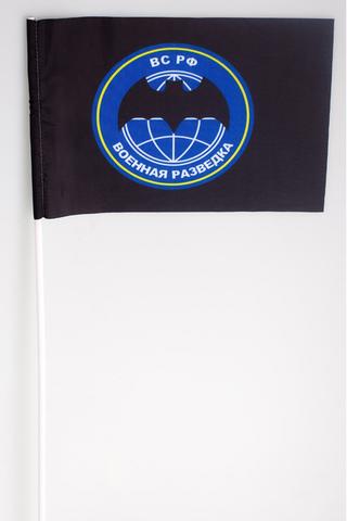 Купить флаг военной разведки 15х23см - Магазин тельняшек.ру 8-800-700-93-18Флаг Военная разведка 15х23 см в Магазине тельняшек