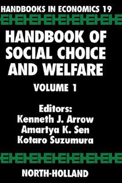 Handbook of Social Choice and Welfare,1