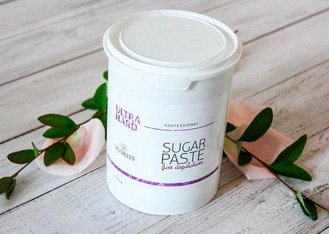Сахарная паста для шугаринга YUSKISS 200g ULTRA HARD пробник
