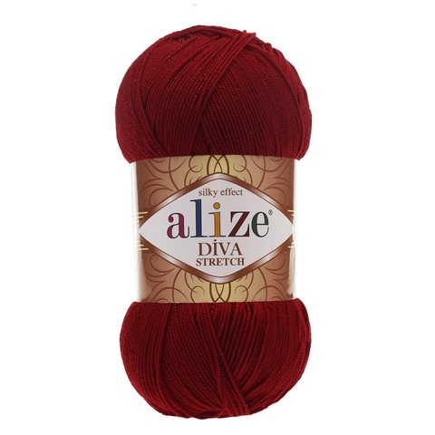 Пряжа Alize Diva Stretch цвет 057