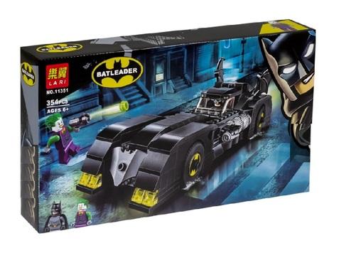 Конструктор Batleader 11351 Бэтмобиль: Погоня за Джокером