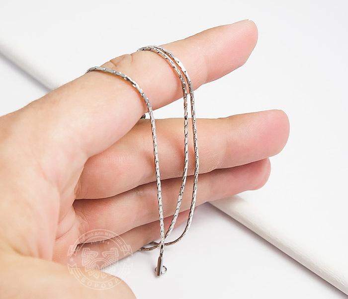 SSNH-0188Оригинальная мужская цепочка «Spikes» из ювелирной стали (55 см) фото 06