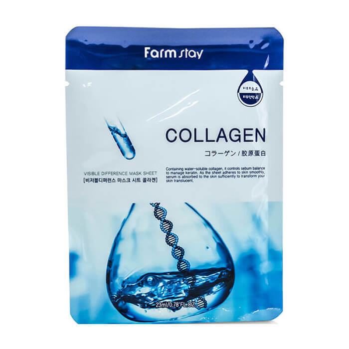 FarmStay Visible Difference Mask Sheet Collagen