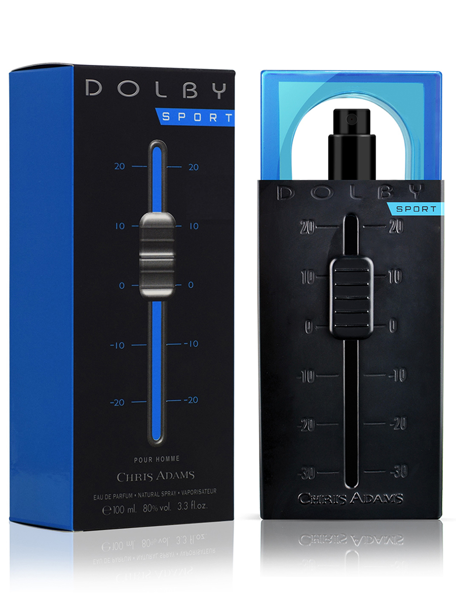 Chris Adams Мужской Dolby Man Sport Парфюмерная вода 100 мл