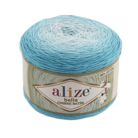 Пряжа Alize Bella Ombre Batik цвет 7409