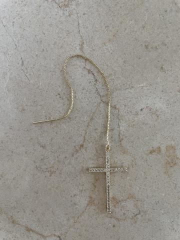 Серьги Византана, позолота