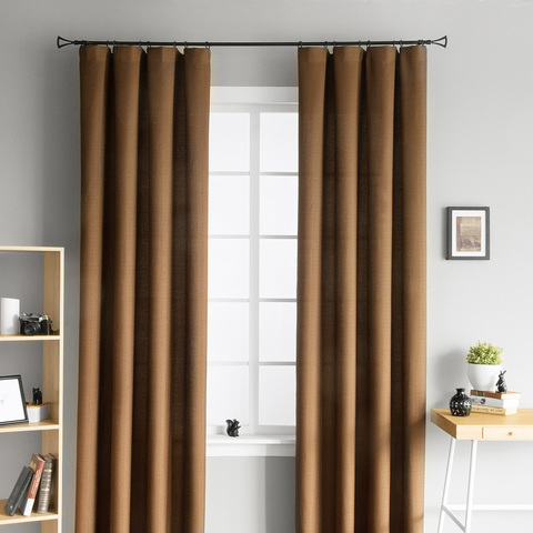 Комплект штор Lamos коричневый