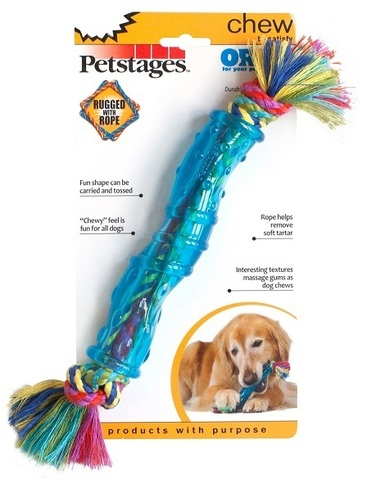 PETSTAGES ORKA STICK MEDIUM
