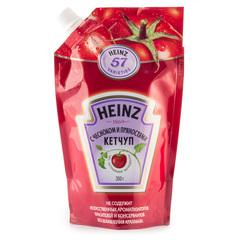 Кетчуп Heinz С чесноком и пряностями 350г
