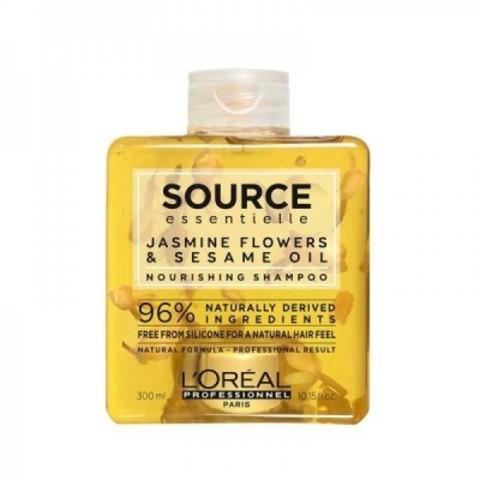 L'Oreal Professionnel Source Essentielle: Шампунь для сухих волос (Nourishing Shampoo), 300мл/1.5л