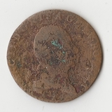 K11965 1800 Австрия 1 крейцер 3,4 гр., D 23,5 мм. А