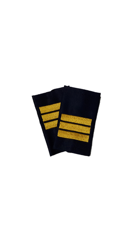 Фальшпогоны синие вышитые сержант (ГИБДД)