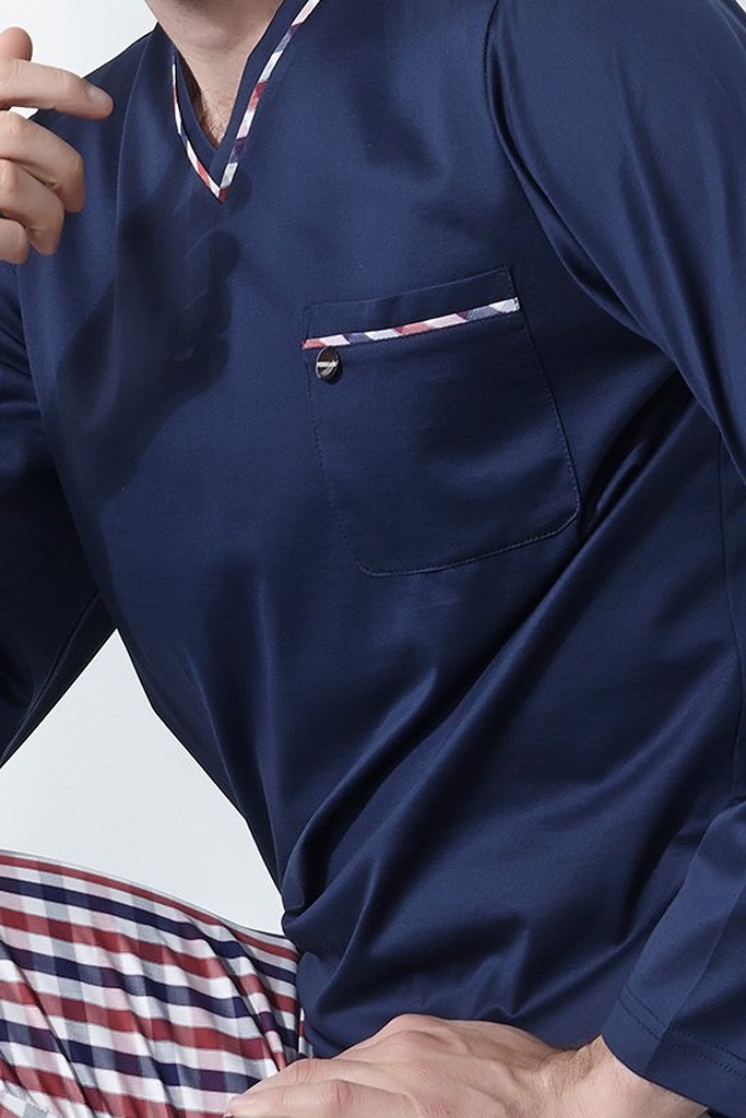 Домашний комплект с клетчатыми брюками Verdiani