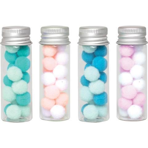 Стеклянные баночки We R Memory Keepers Glass Jars-Large-4шт