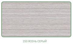 Наличник ПВХ с кабель-каналом 70 мм Деконика, 253 Ясень серый