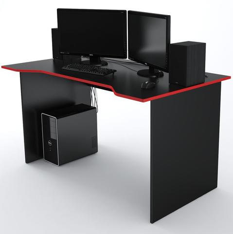 Стол Компьютерный Jedi 1400 Черный/Красный