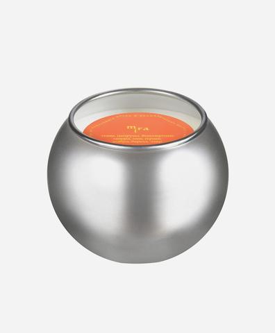Свеча-шар серебро mini Mira
