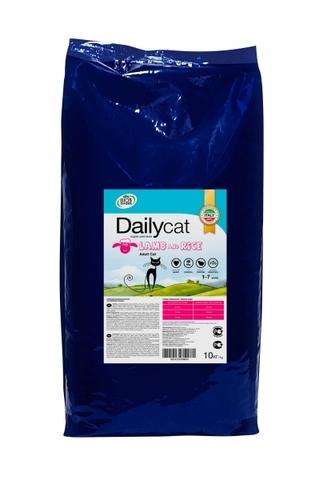 Dailycat Adult Lamb and Rice для взрослых кошек с ягненком и рисом 10 кг