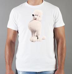 Футболка с принтом мультфильма Тайная жизнь домашних животных ( The Secret Life of Pets) белая 004