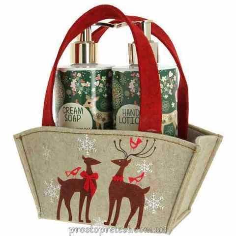 Vivian Gray Natural Christmas Set – Набір для рук (рідке мило, лосьйон)