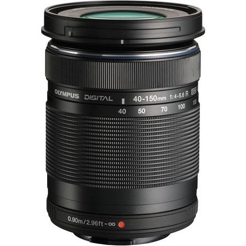Объектив Olympus M.Zuiko Digital 40-150mm f/4-5.6 ED R Black для Olympus