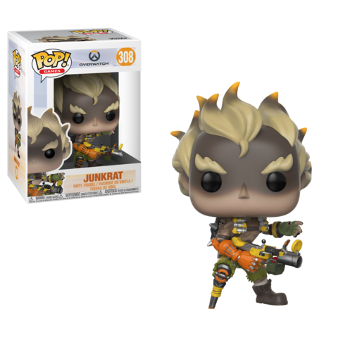 Фигурка Funko POP! Vinyl: Games: Overwatch S3: Junkrat 29045