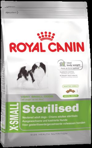 Royal Canin X-SMALL STERILISED для стерилизованных собак миниатюрных пород
