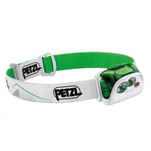 Фонарь светодиодный налобный Petzl Actik зеленый, 350 лм
