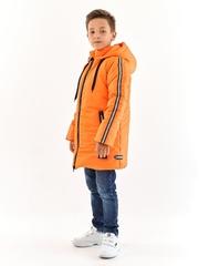 Полупальто для мальчика оранжевый