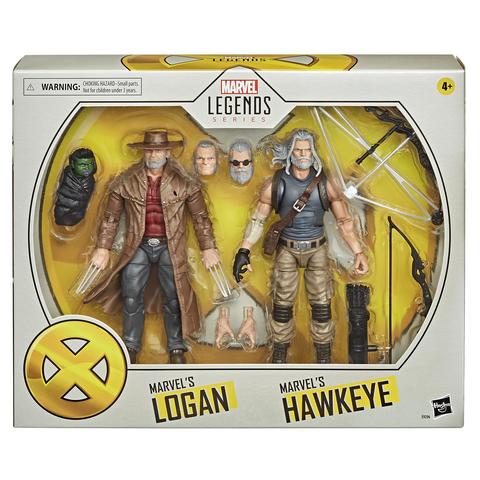 Фигурки Marvel Legends Marvel's Hawkeye and Marvel's Logan 15см E9296