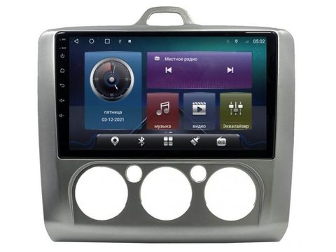 Магнитола для Ford Focus II (05-11) Android 10 4/645GB IPS DSP 4G модель CB-2033TS10