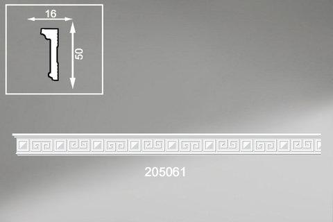 Потолочный плинтус экструзионный 2м