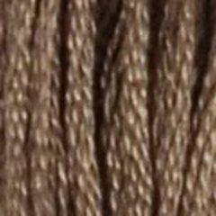 Нитки  мулине DMC хлопок Светло-коричневый 08