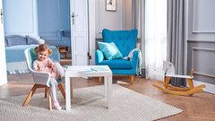 Стульчик для кормления Kinderkraft Tixi Turquoise