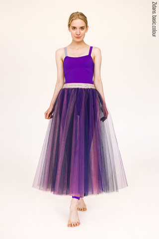 Colour rehearsal tulle skirt