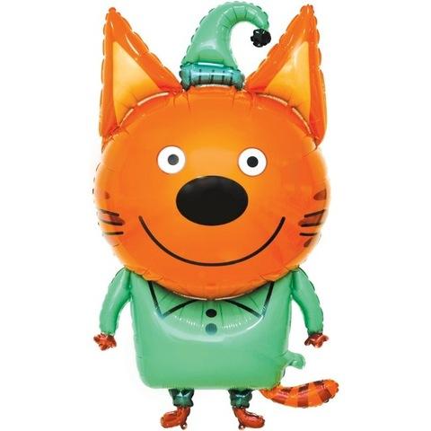 Воздушный шар фигура с гелием Компот из мультфильма Три кота, 86 см