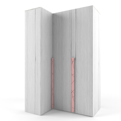 Шкаф угловой «Гармошка» слева «Нью тон»