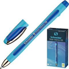 Ручка шариковая одноразовая Schneider Memo синяя (толщина линии 0.8 мм)
