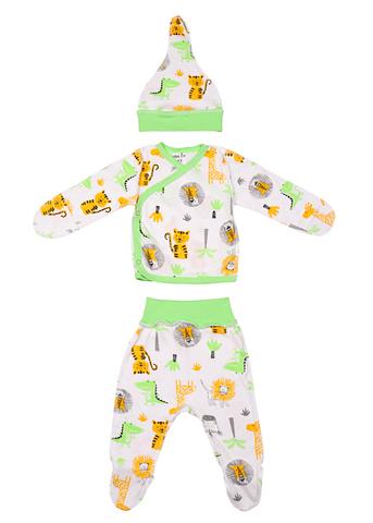 Mini Fox. Комплект для новорожденных 3 предмета, африка