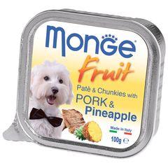Консервы для собак, Monge Dog Fresh, свинина с ананасом