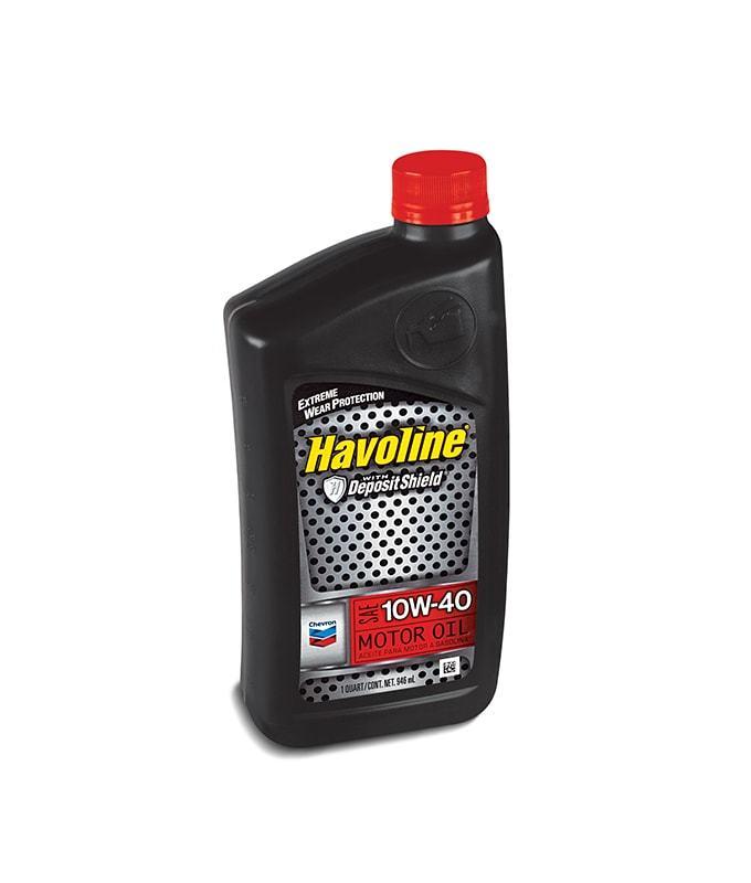 HAVOLINE 10W-40 моторное масло для бензиновых двигателей Chevron (1 литр)