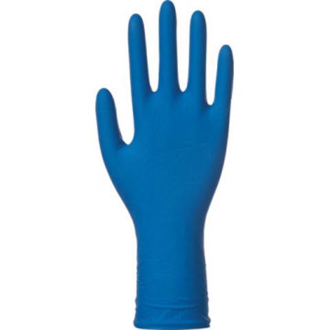 Перчатки медицинские смотровые латексные Benovy High Risk нестерильные неопудренные размер M (50 штук в упаковке)