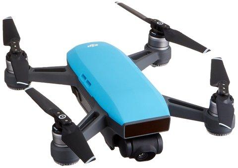 Квадрокоптер DJI Spark (Sky Blue/Голубой)