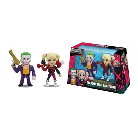 Набор фигурок Joker Boss и Harley Quinn 10 см