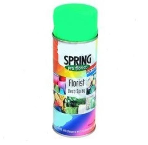 Краска-спрей SPRING флуоресцент. Цвет: 699, зеленый